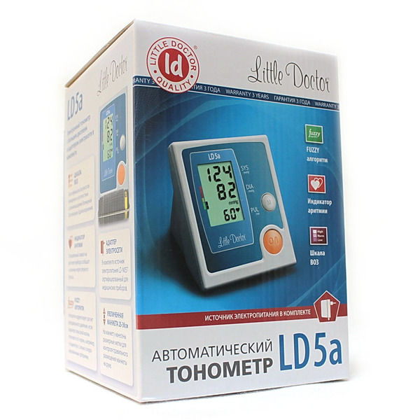 Тонометр Литтл Доктор (Little Doctor) LD-5a автомат