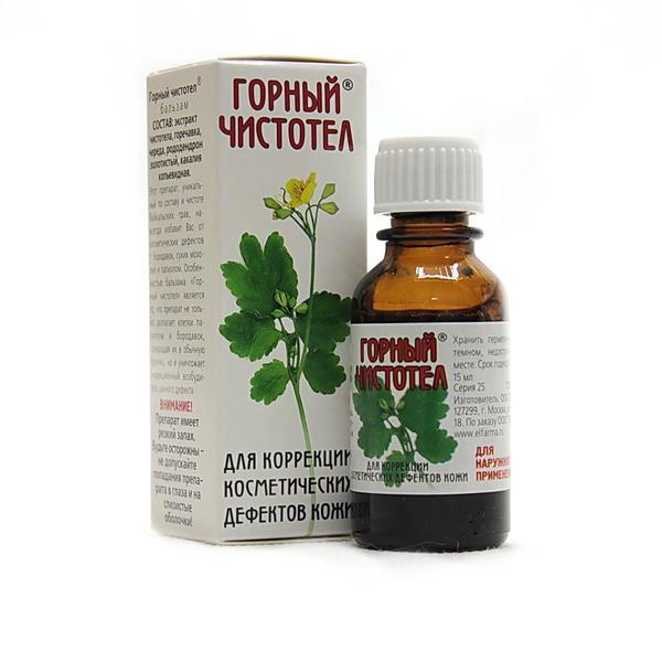 Настойка чистотела от простатита