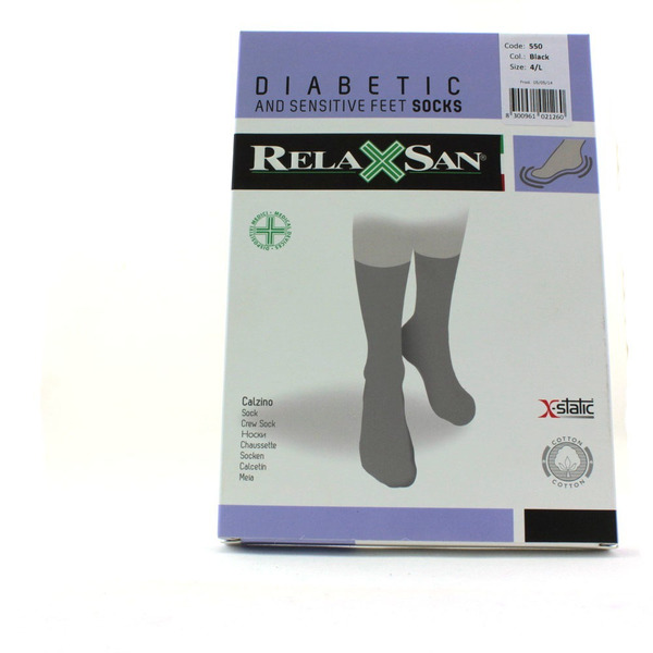 Носки Релаксан (Relaxsan) 550 Diabetic Socks X-Static