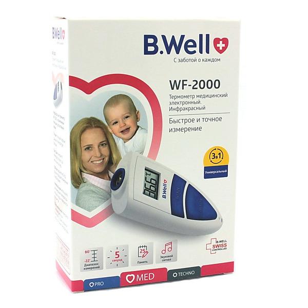 Лобный инфракрасный термометр для детей b. Well wf-2000.