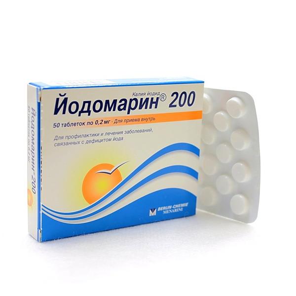 Йодомарин 200 мкг n100 табл купить в москве цена и
