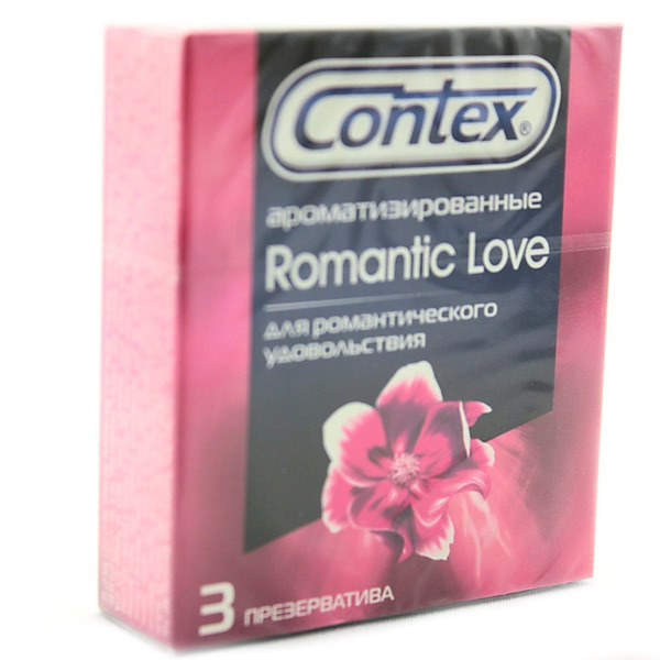 Презервативы Контекс (Contex) Romantic Love
