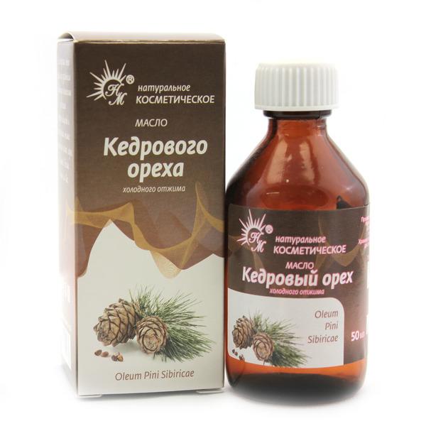 Косметическое масло кедрового ореха