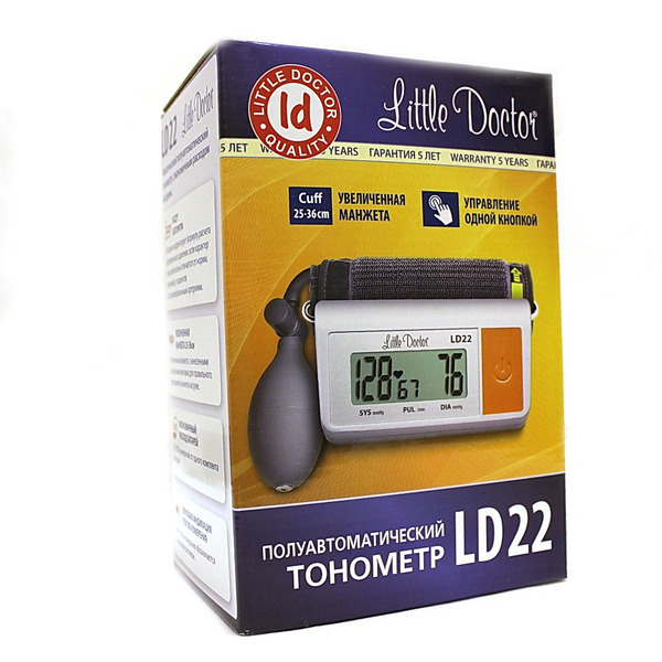 Тонометр Литтл Доктор (Little Doctor) LD-22 п/автомат