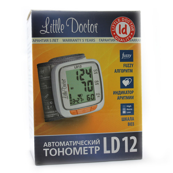 Тонометр Литтл Доктор (Little Doctor) LD-12 автомат