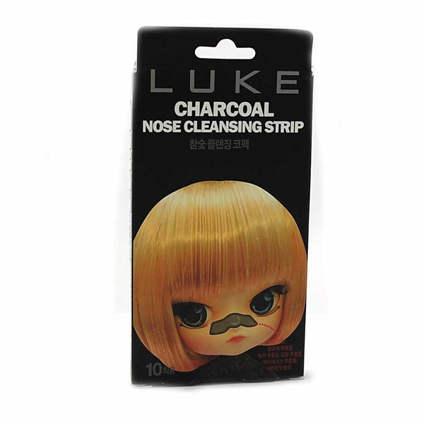Полоски Luke Charcoal Nose Cleansing Strip