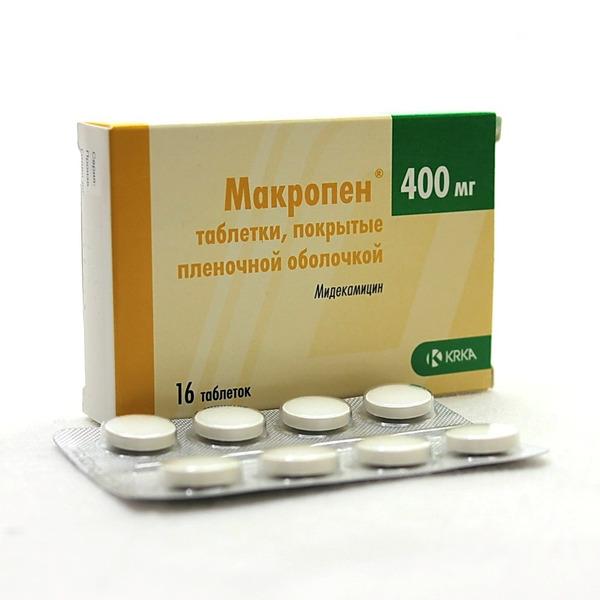 Макропен простатита простатит чем вызвана