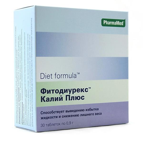 Диет формула фитодиурекс калий плюс цена